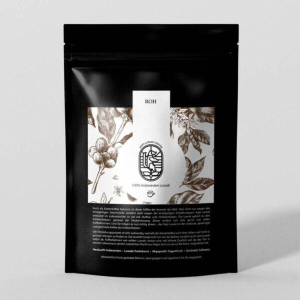 Kopi Luwak Kaffeebohnen zum selbst rösten